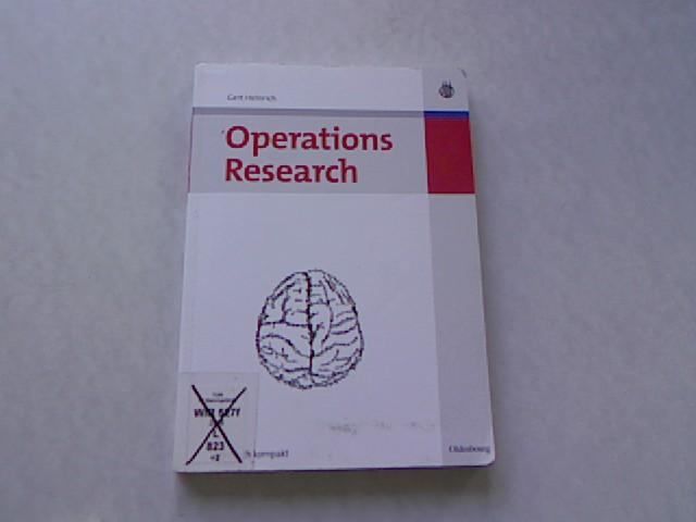 Operations-Research. - Heinrich, Gert