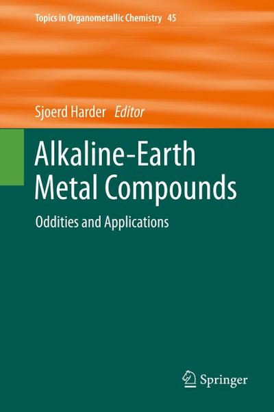 Alkaline-Earth Metal Compounds - Sjoerd Harder