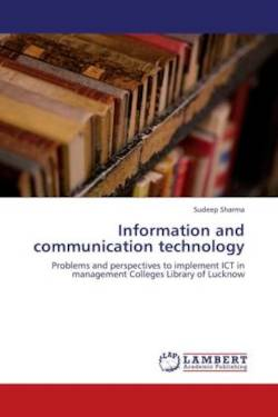 Information and communication technology - Sharma, Sudeep