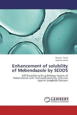Enhancement of solubility of Mebendazole by SEDDS
