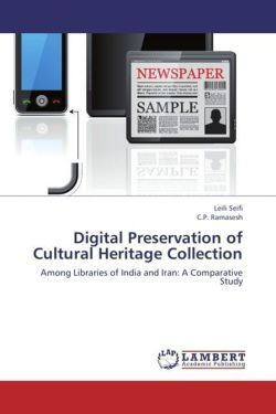 Digital Preservation of Cultural Heritage Collection