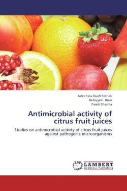 Antimicrobial activity of citrus fruit juices