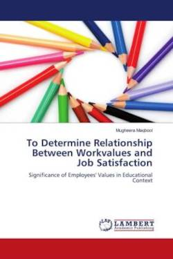 To Determine Relationship Between Workvalues and Job Satisfaction