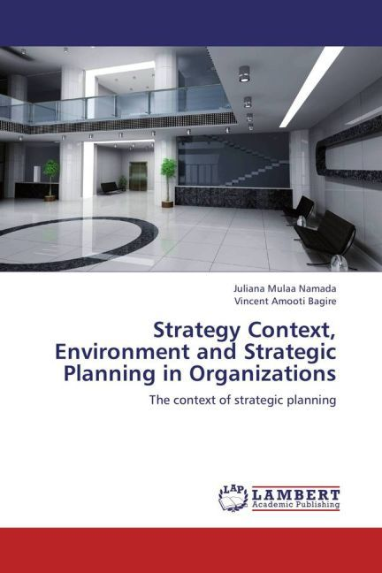 Strategy Context, Environment and Strategic Planning in Organizations