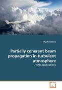 Partially coherent beam propagation in turbulent atmosphere