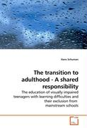 The transition to adulthood - A shared responsibility