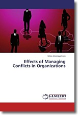 Effects of Managing Conflicts in Organizations - Amuhaya Iravo, Mike