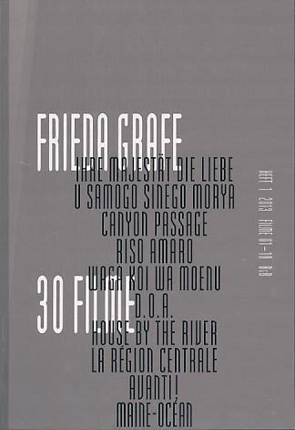 Frieda Grafe, 30 Filme Heft 1