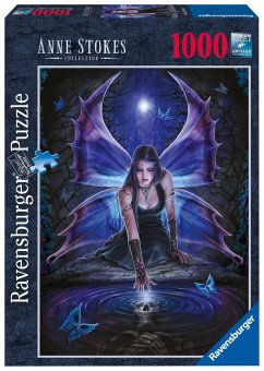Ravensburger 19110 - Anne Stokes: Sehnsucht, 1000 Teile Puzzle - Stokes, Anne