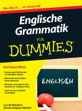 Englische Grammatik für Dummies - Lars M. Blöhdorn, Denise Hodgson-Möckel