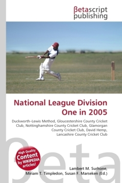 National League Division One in 2005