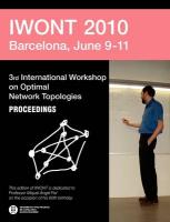 Iwont 2010 - 3rd International Workshop on Optimal Network Abstracts - Anon