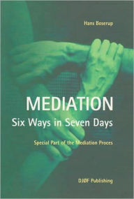 Mediation - Six Ways in Seven Days: Special Part of the Mediation Process