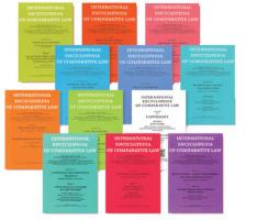 International Encyclopedia of Comparative Law, Volume 33 Instalment 33