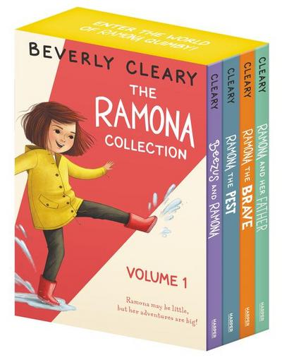 The Ramona Collection, Volume 1: Ramona and Her Father/Ramona the Brave/Ramona the Pest/Beezus and Ramona - Beverly Cleary