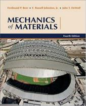 Mechanics of Materials - Beer, Ferdinand Pierre / Johnston, E. Russel / Dewolf, John T.
