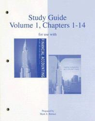 Financial and Managerial Accounting -Study Guide Volume 1 - Jan Williams, Sue Haka and Mark S. Bettner