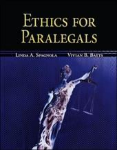 Ethics for Paralegals - Spagnola, Linda A. / Batts, Vivian B.