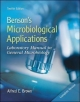 Combo: Benson's Microbiological Applications Complete Version with Connect Microbiology 1 Semester Access Card - Alfred E. Brown