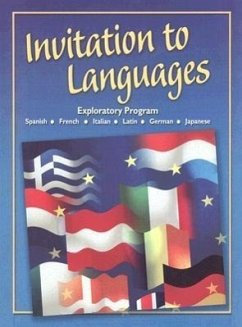 Invitation to Languages: Foreign Language Exploratory Program - Schmitt, Conrad