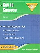 Key to Success, Level 3: A Curriculum for Summer School, After School, Exploration Programs
