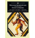 Four Comedies: The Taming of the Shrew; A Midsummer Night's Dream; As You Like it; Twelfth Night - William Shakespeare