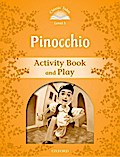 Pinocchio Activity Book & Play