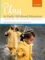 Play in Early Childhood Education: Learning in Diverse Contexts
