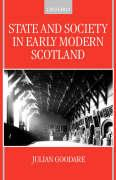 State and Society in Early Modern Scotland