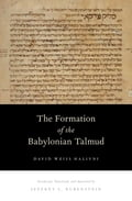 The Formation of the Babylonian Talmud - David Weiss Halivni, Jeffrey L. Rubenstein