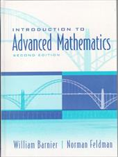 Introduction to Advanced Mathematics - Barnier, William / Feldman, Norman