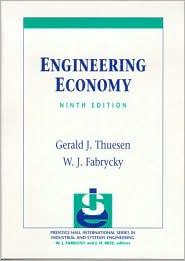 Engineering Economy - Gerald J. Thuesen, W.J. Fabrycky