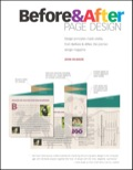 Before and After Page Design - John McWade