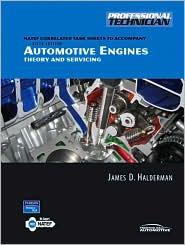 Automotive English : Theory and Services - Natef Task Sheets - James D. Halderman
