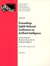 AAAI-90: Proceedings of the Eighth National Conference on Artificial Intelligence - American Association on Artificial Intel