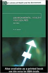 Environmental Health Procedures - W. H. Basset