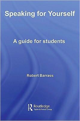 Speaking for Yourself - Robert Barrass