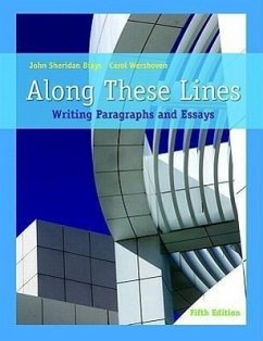 Along These Lines: Writing Paragraphs and Essays (with Mywritinglab Student Access Code Card) [With Mywritinglab] - Biays, John Sheridan Wershoven, Carol