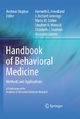 Handbook of Behavioral Medicine - Andrew Steptoe;  A. Steptoe;  Kenneth Freedland
