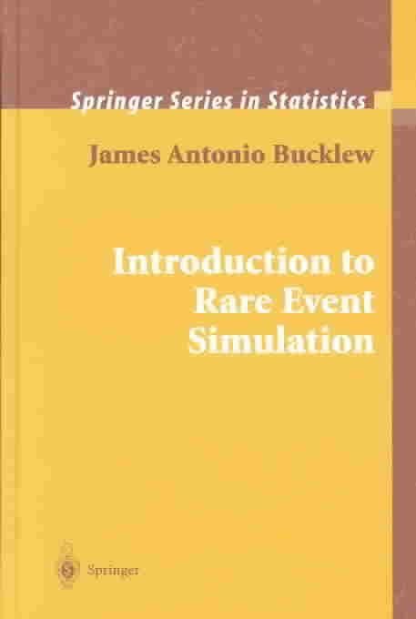 An Introduction to Rare Event Simulation