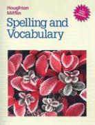 HM Spelling and Vocabulary LV 6