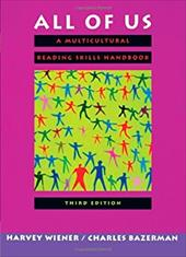 All of Us: A Multicultural Reading Skills Handbook - Wiener, Harvey S. / Bazerman, Charles