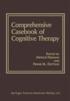 Comprehensive Casebook of Cognitive Therapy - Freeman, Arthur / Dattilio, Frank M. (Hgg.)