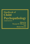 Handbook of Child Psychopathology