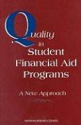 Quality in Student Financial Aid Programs: A New Approach