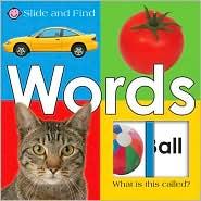 Words (Slide and Find Series) - Roger Priddy