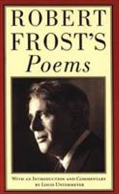 Robert Frost's Poems - Frost, Robert