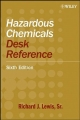 Hazardous Chemicals Desk Reference - Richard J. Lewis