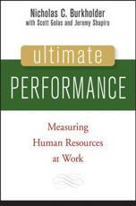 Ultimate Performance - Nicholas C. Burkholder, Scott Golas, Jeremy P. Shapiro