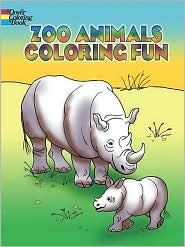 Zoo Animals Coloring Fun - Pat Stewart